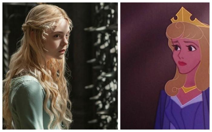 Elle Faning VS Sleeping Beauty