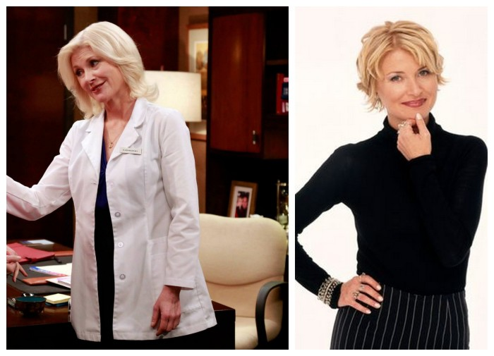 Beth Broderick before and after